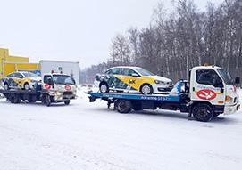 Два оставшихся автомобиля уже самостоятельно едут в Новосибирск и Иркутск