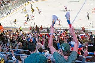 Российская сборная сыграет против сборной Швеции.