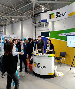 IEK GROUP на «Электротехническом форуме» в Краснодаре – интересные новинки и яркая экспозиция