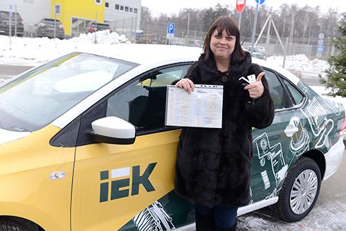 поздравляем Марину Шароватову из сочинского офиса компании «Минимакс»