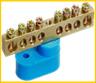 Шины N/PE сечением 6×9 мм