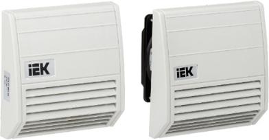 Вентиляторы с фильтром IEK®